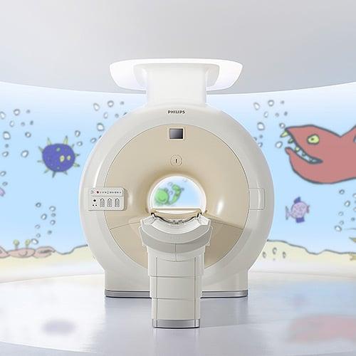 Diagnostic imaging machine image