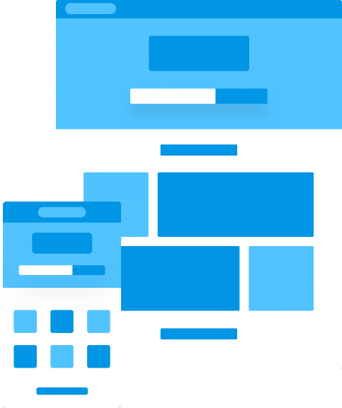 Standalone mobile website image