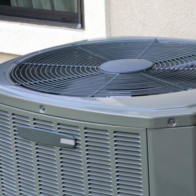 outdoor AC unit photo