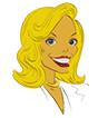 Cartoon image of Leli Lowndes Head
