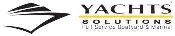 Logo for Yachts Solutions Full Service Boatyard and Marina