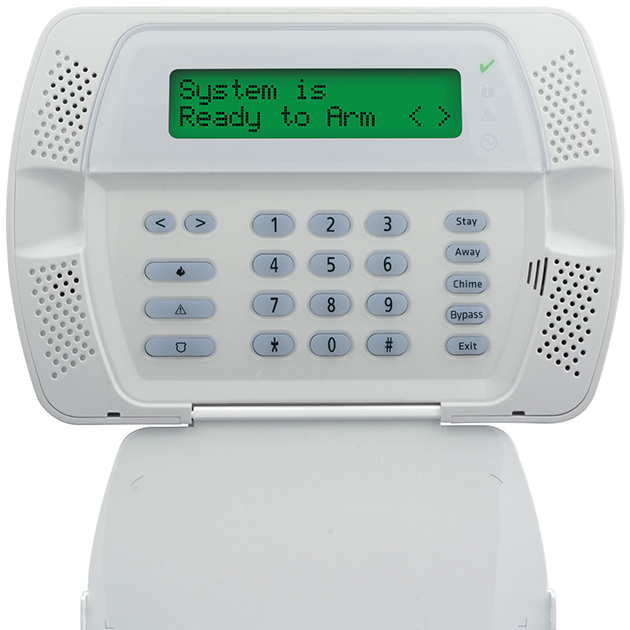 Photo of an alarm system