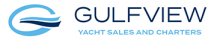 Logo for Gulfview Yacht Sales and Charters